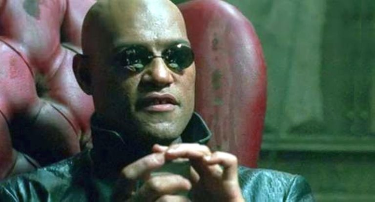 Morpheus from The Matrix